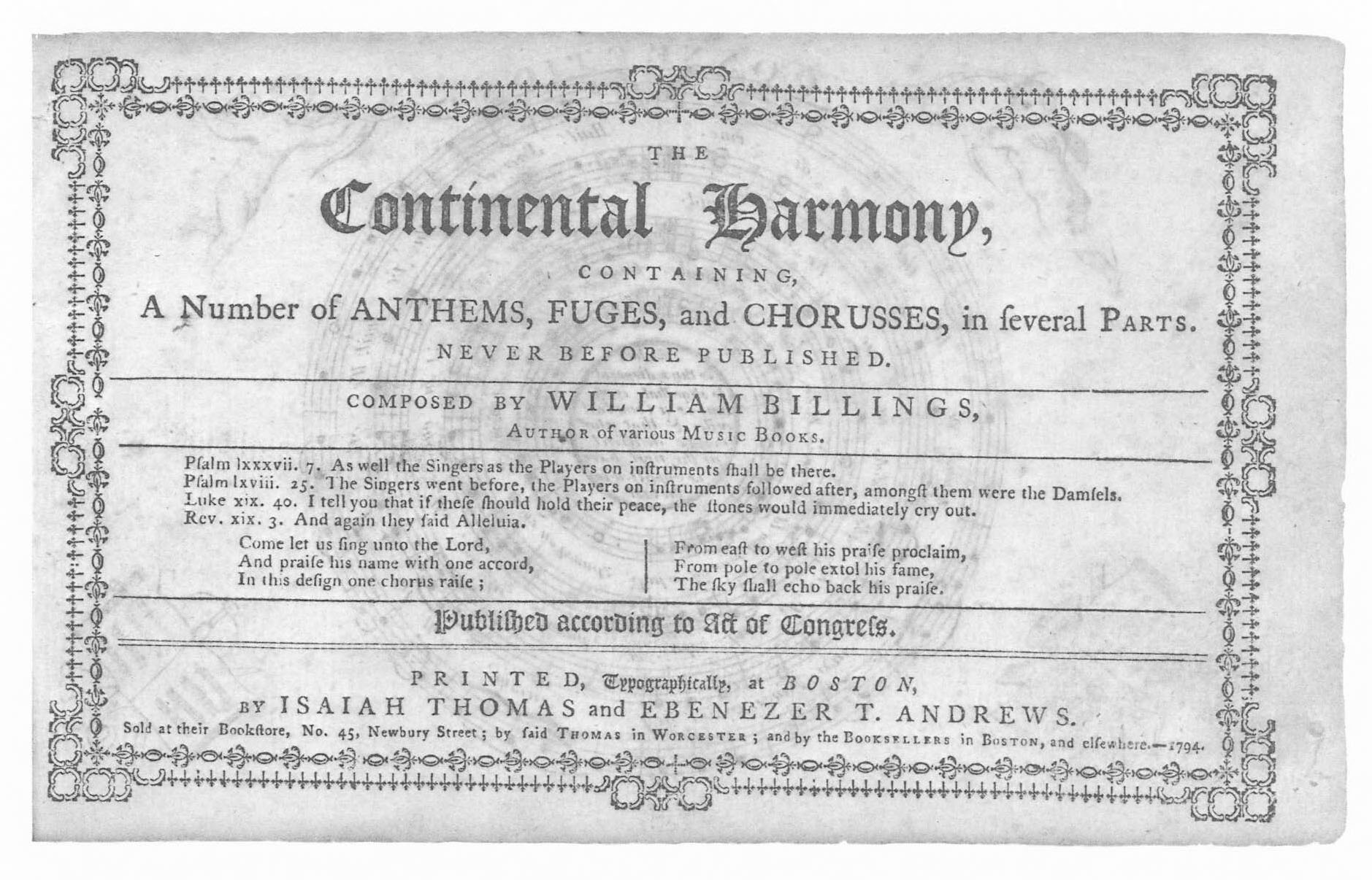 Billingss Introduction To The Continental Harmony Colonial Alphanet Experiment 2 Half Adder 1794
