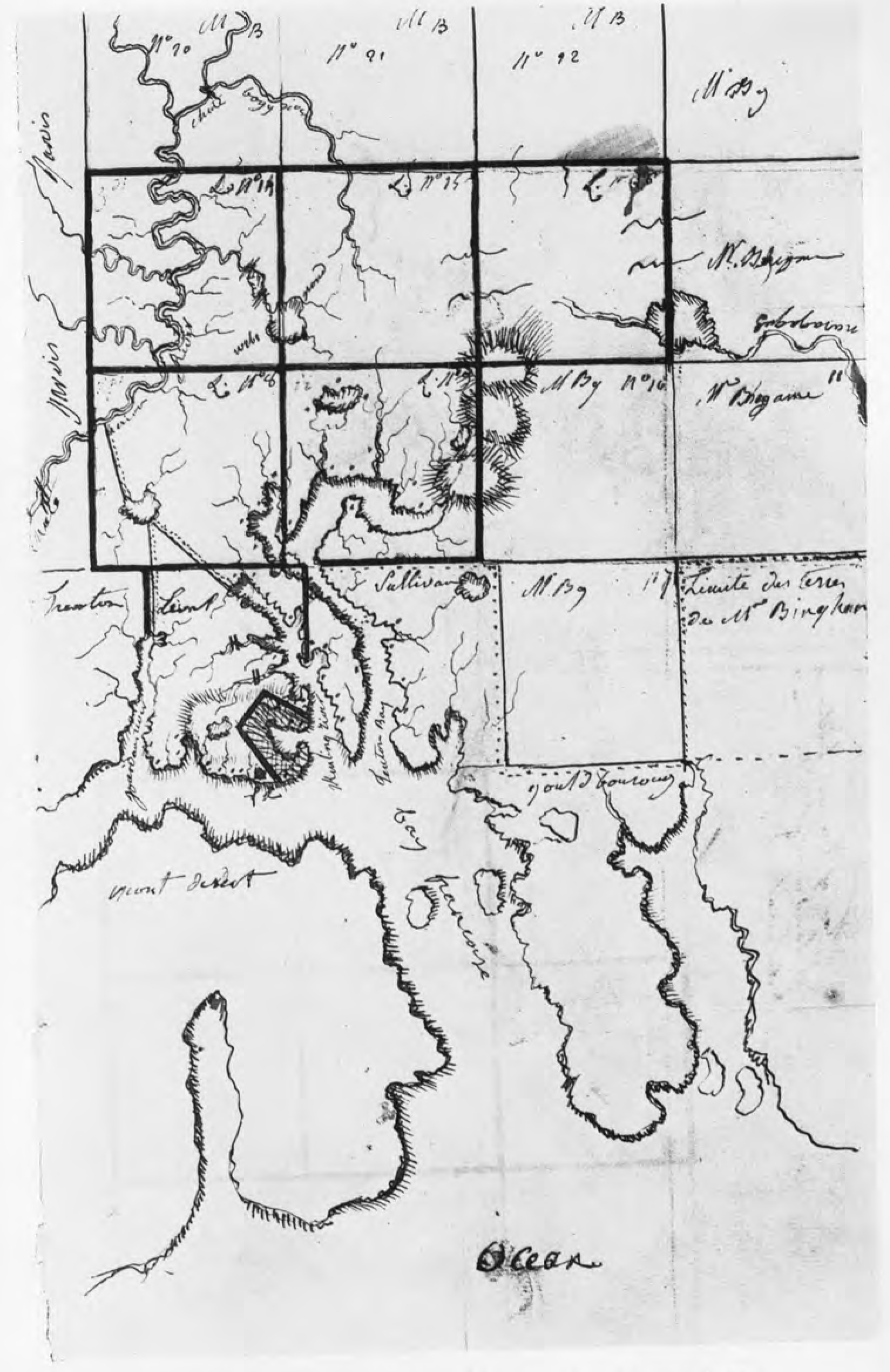 Chapter iv fontaine leval colonial society of massachusetts map of madame de levals first purchase from duer and knox the handwriting is that of madame de leval geenschuldenfo Choice Image