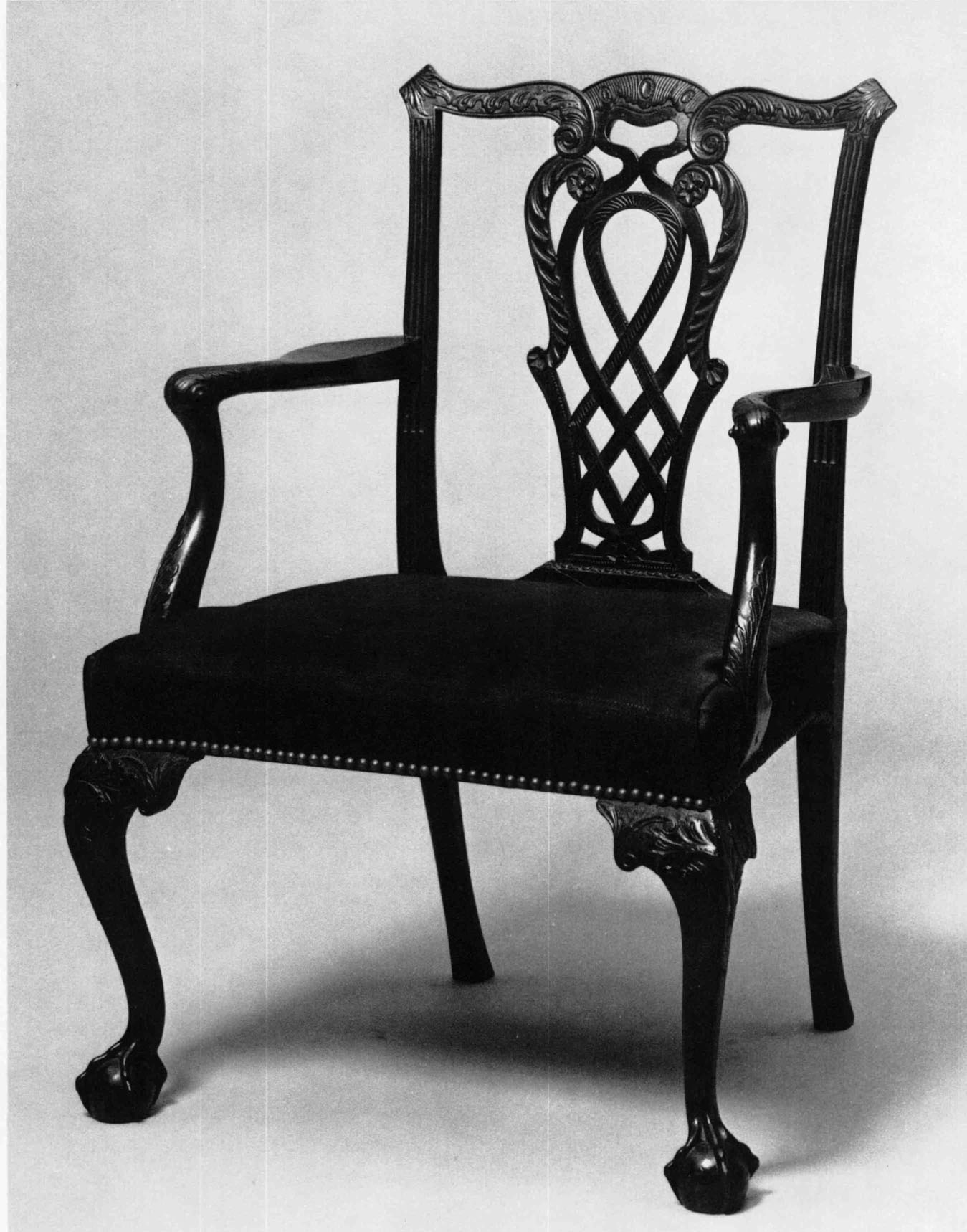 This israel sack american federal mahogany antique lolling arm chair - Armchair Boston Area C 1760 1780 Mahogany Maple And Birch H 37 Inches W 26 Inches D 199 16 Inches Yale University Art Gallery