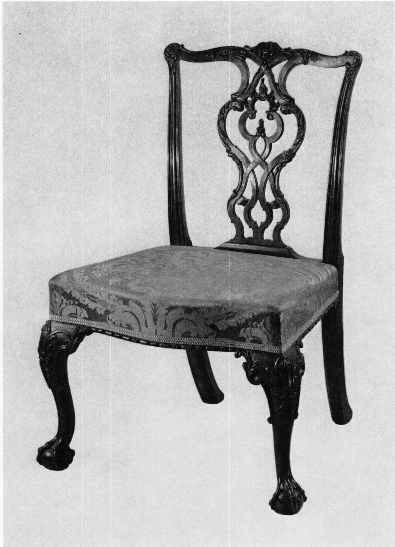1760u20131780. Mahogany And Beech; H. 37¼ Inches, W. 22½ Inches, D. 19 Inches.  (Museum Of Fine Arts, Boston, Gift Of Mrs. Guy Currier, 35.1977.