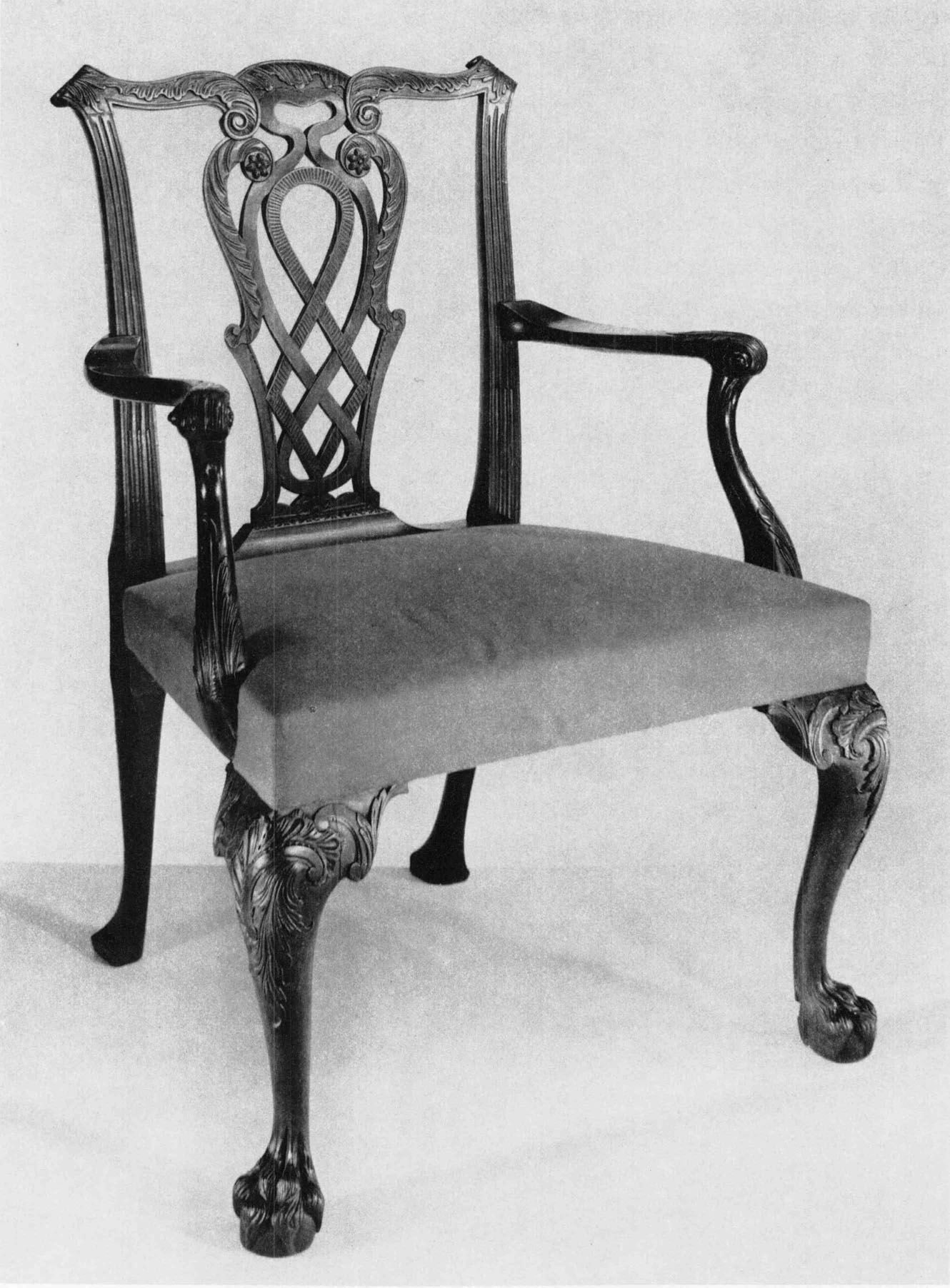 This israel sack american federal mahogany antique lolling arm chair - Armchair England C 1760 1780 Mahogany And Beech H 37 Inches W 25 Inches D 20 Inches The Henry Francis Du Pont Winterthur Museum