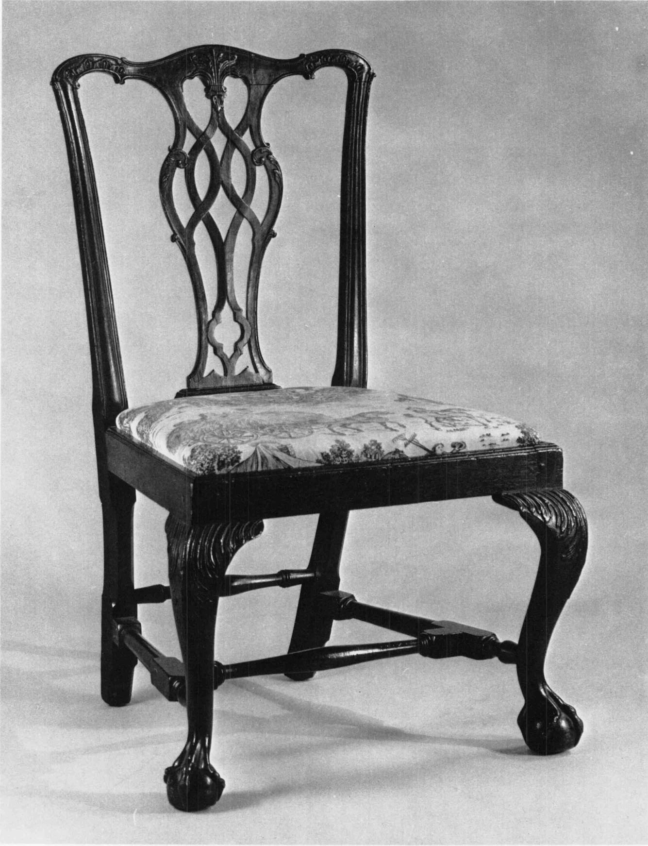 This israel sack american federal mahogany antique lolling arm chair - 37 Inches W 21 Inches D 17 Inches Museum Of Fine Arts Boston Gift Of Mrs F Carrington Weems 60 1176 This Chair Descended In