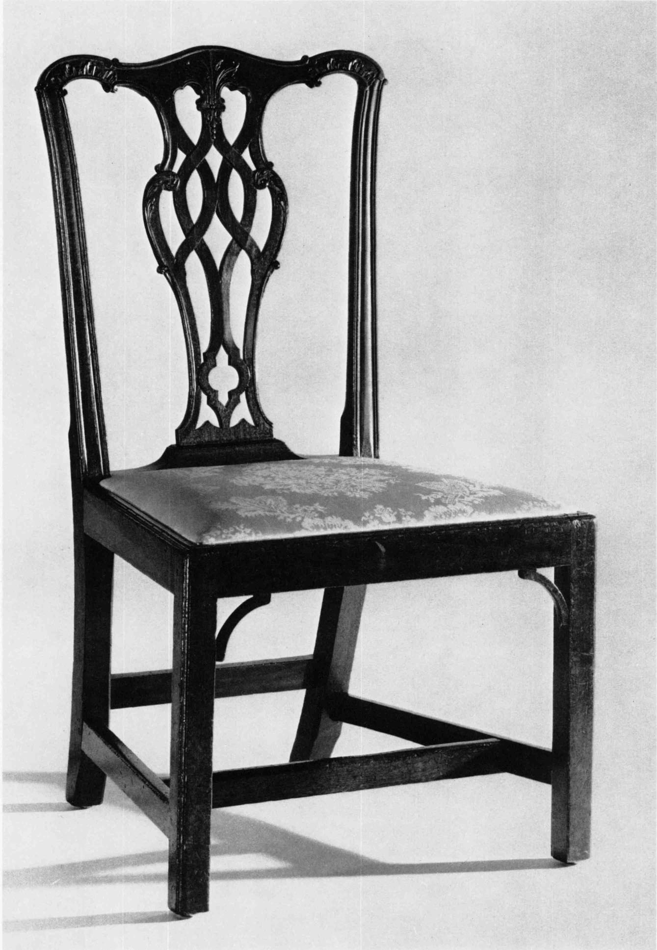 This israel sack american federal mahogany antique lolling arm chair - Side Chair Boston Area C 1760 1780 Mahogany H 36 Inches W 21 Inches D 18 Inches The Henry Francis Du Pont Winterthur Museum Splat A