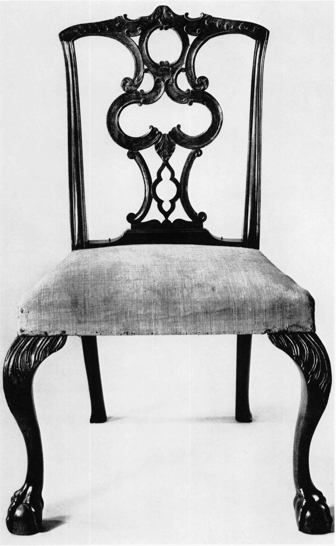 1760u20131780. Mahogany, Maple, And White Pine; H. 38¼ Inches, W. 23⅝ Inches,  D. 17¾ Inches. (Massachusetts Historical Society: Photo, Richard Cheek.)  Splat C.
