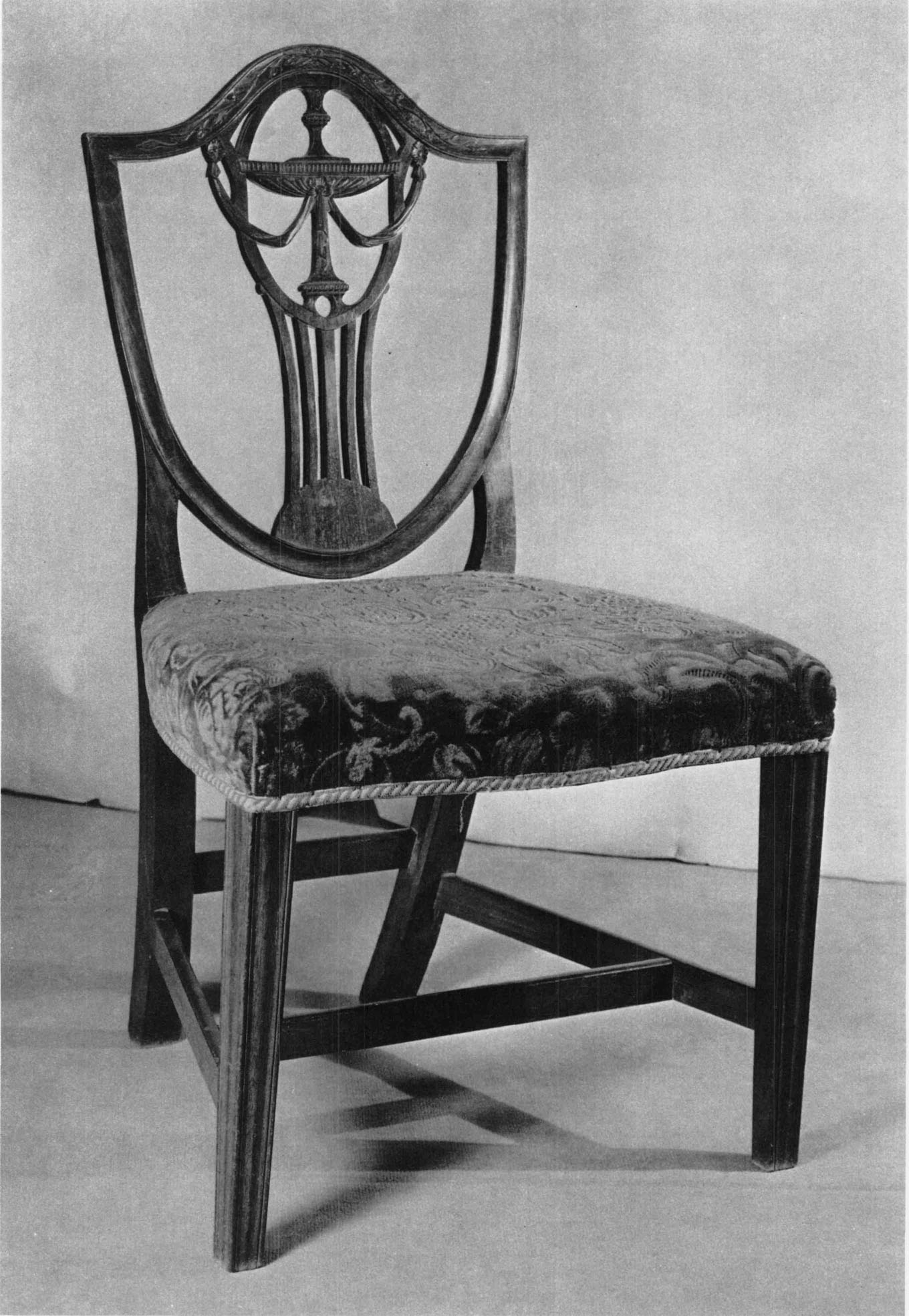 171. Side Chair. Made Or Owned By Benjamin Frothingham (inscription In  Ink), Charlestown, C. 1790u20131809. Mahogany, Beech, And Maple; H. 33 Inches,  W.