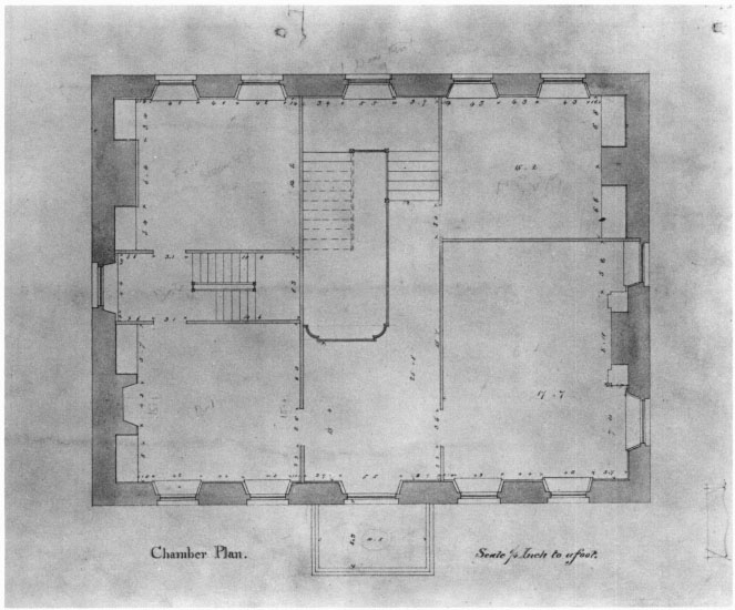 Measured Drawings of the Hancock House by John Hubbard Sturgis: A ...