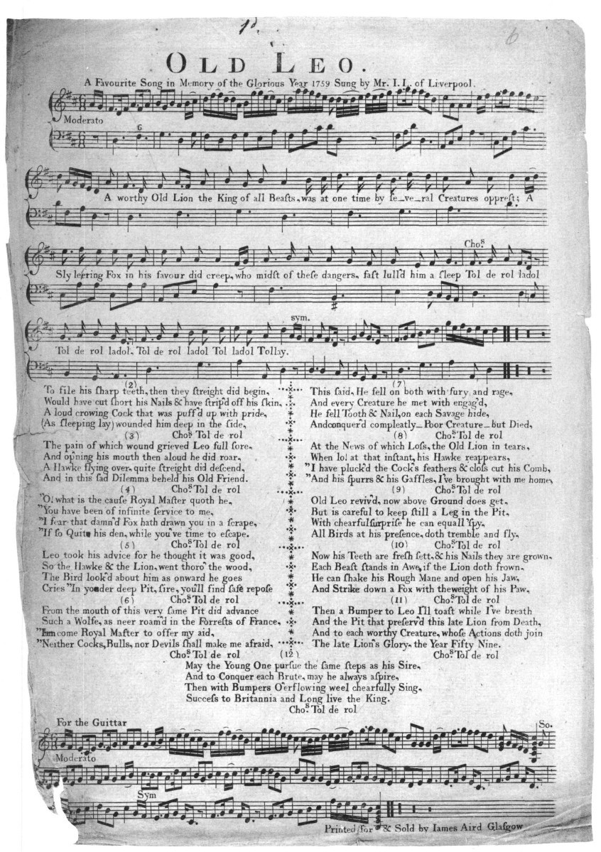 Broadsides and Their Music in Colonial America - Colonial Society of ...