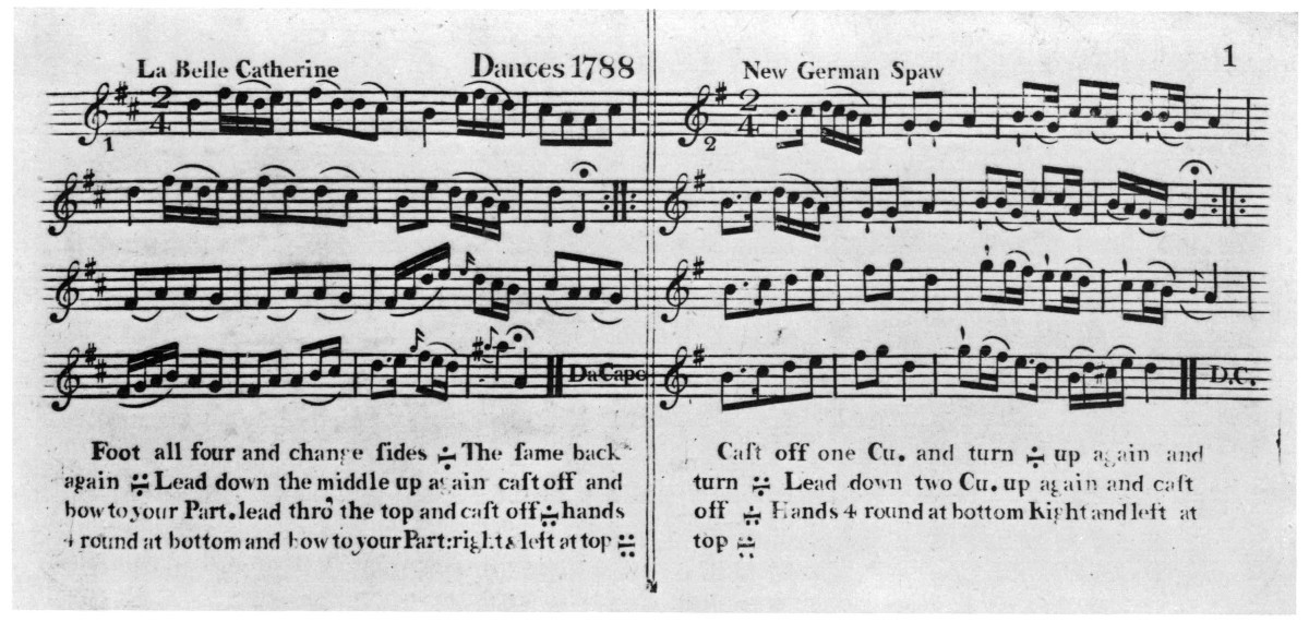 Selected American Country Dances and Their English Sources