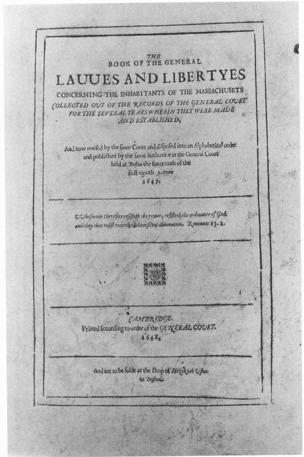 Legal Literature In Colonial Massachusetts Colonial Society Of