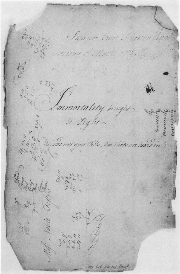 Immortality Brought To Light An Overview Of Massachusetts Colonial