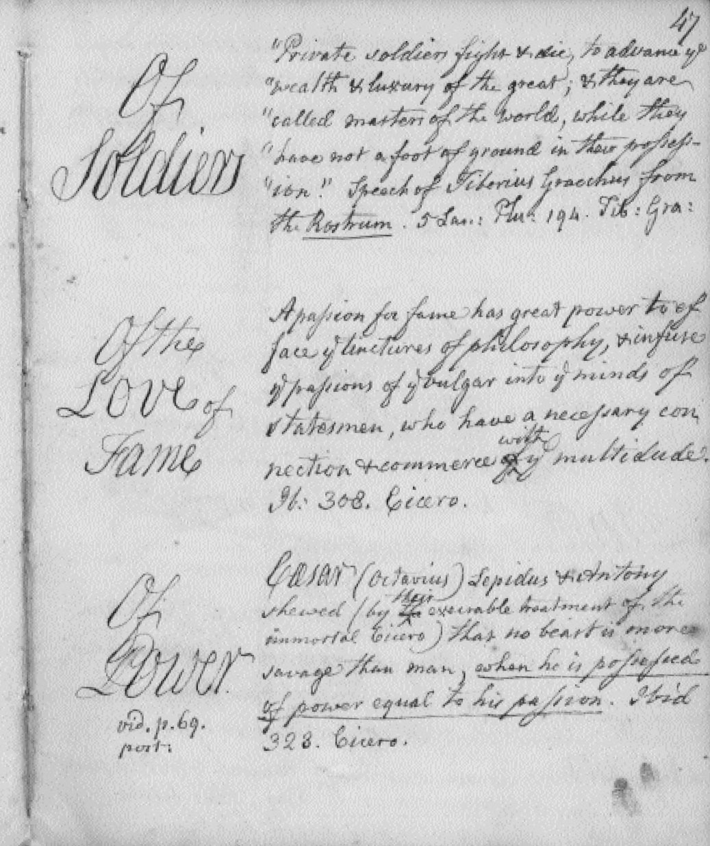 THE POLITICAL COMMONPLACE BOOK - Colonial Society of
