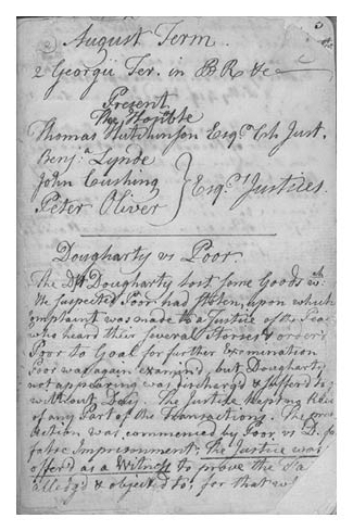 Josiah Quincy Jr The Law Reports Colonial Society Of Massachusetts