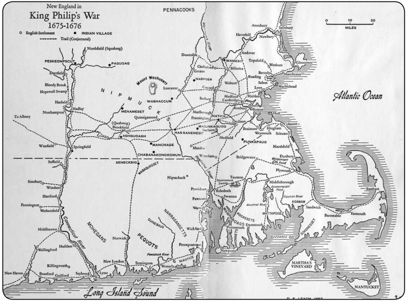 Three King Philips War 16751676 Colonial Society Of Massachusetts