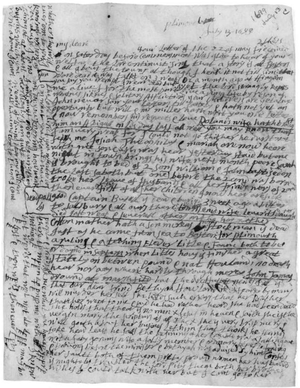 """Eleven: """"Leaving Massachusetts and Exile in Carolina,"""" 1698"""