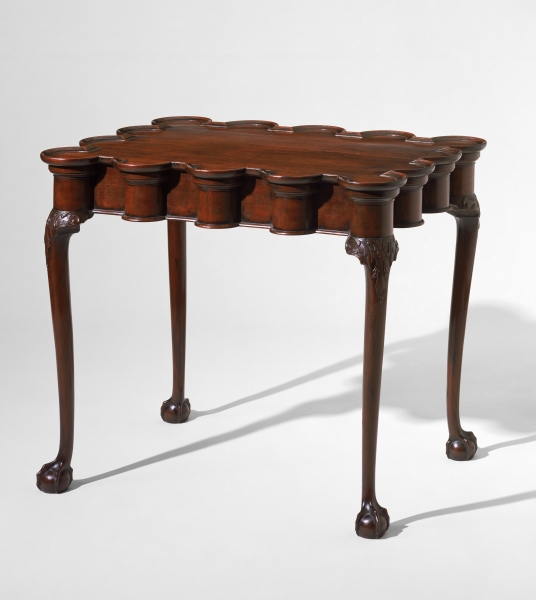 Bon Tea Table, Possibly Philadelphia Area, 1935u201340. Mahogany, White Pine; H  27¾, W 32⅜, D 23⅜. Museum Of Fine Arts, Boston; The M. And M. Karolik  Collection ...