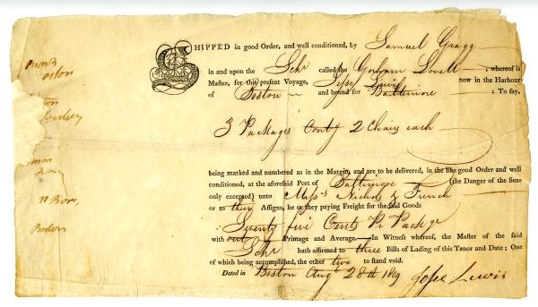 Beau Colonial Society Of Massachusetts
