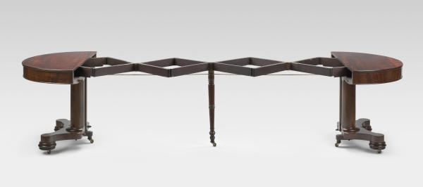 FIG. 10. Table In Fig. 9 Fully Extended To A Width Of 127 Inches.